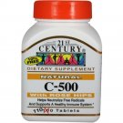 21st Century C-500 with Rose Hips( 110 Tablets) -3 Bottles
