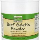 BEEF GELATIN POWDER  4 LB By Now Foods