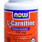 Now Foods: L-Carnitine Fitness Support 500mg, 30 caps