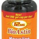 Nutrex Hawaii - BioAstin Hawaiian Astaxanthin 12 mg. - 50 Gelcaps