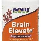 NOW Foods Brain Elevate Vegetarian - 60 Vegetarian Capsules