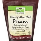 Now Foods Real Food Honey Roasted Pecans - 8 oz (227 g)