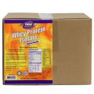 NOW Foods Whey Protein Isolate Mega Pack Natural Vanilla Flavor - 10 lbs.