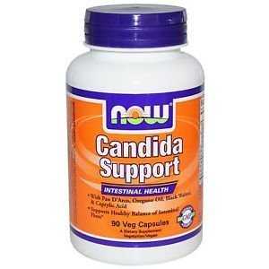 Candida Support 90 Vcaps NOW Foods Digestive Intestinal Health