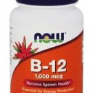 NOW Foods B-12 with Folic Acid 1000 mcg - 100 Chewable Lozenges
