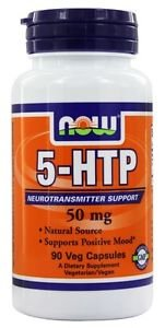 5-HTP 50mg Now Foods 90 VCaps