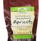 NOW Foods Cerfified Organic Dried Apricots - 1 lb (454g)