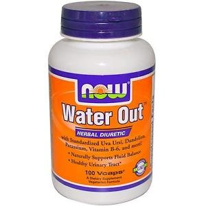 Water-Out   100 Vcaps NOW Foods