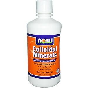 Now Foods Colloidal Minerals - 32 fl oz (946 ml)