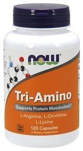 Now Foods, Tri-Amino, 120 Capsules