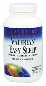 Planetary Herbals Valerian Easy Sleep 900 mg - 120 Tablets