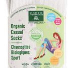 Earth Therapeutics Women's Casual Crew Socks Bone - 1 Pair