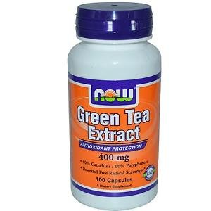 Now Foods Green Tea Extract 400 mg - 100 Capsules