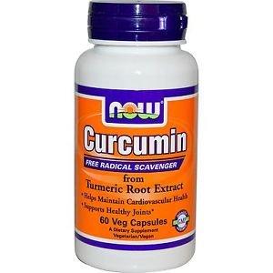 Now Foods Curcumin Free Radical Scavenger - 60 Veggie Caps