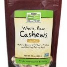 NOW Foods Whole Cashews Raw Unsalted - 10 oz.
