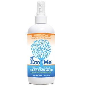 Eco-Me Dog Fur Detangler Grapefruit Sage 16 oz
