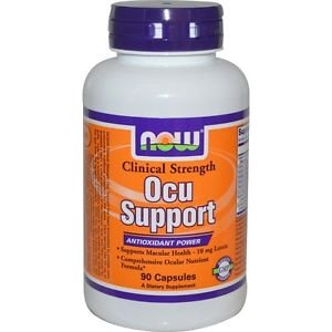Now Foods Ocu Support Clinical Strength - 90 Veg Capsules