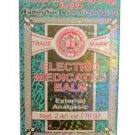 Electric Medicated Balm External Analgesic Pain Relief 2.45 oz.