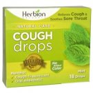 Herbion Naturals - COUGH DROPS,MINT 18 CT