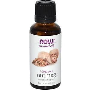 Now Foods Essential Oils Nutmeg - 1 fl oz (30 ml)