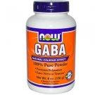 Now Foods GABA Pure Powder Neurotransmitter Support - 6 oz (170 g)