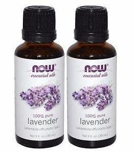 2 Bottles Now Foods Lavender Oil - 1 fl oz (30mL)