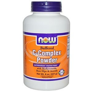 Now Foods C-Complex Buffered Powder Antioxidant Protection - 8 oz (227 g)