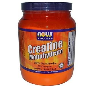 Creatine Powder Pure 2.2 Lbs  1 Kg NOW Foods