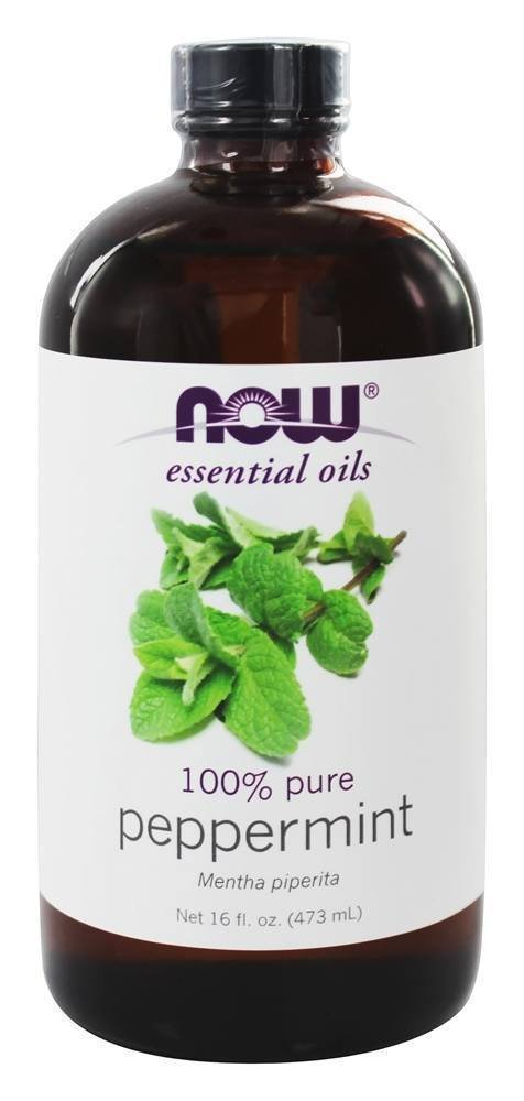 100% PEPPERMINT OIL  16 OZ By Now Foods Repels Mice Mouse & Mold