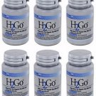 6 Pack Lane Labs H2Go Gentle Constipation Relief - 90 Mini Tabs