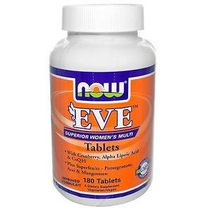 Eve Woman'S Multi Vit  180 Tabs NOW Foods