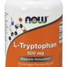 NOW Foods  L-Tryptophan 500 mg - 60 Veg Capsules