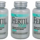 3 Pack Lane Labs Fertil Male Supports Healthy Sperm Activity 90 Capsules