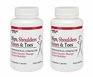 2 Pack Lane Labs - Hips Shoulders Knees and Toes - 60 capsule