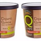 2 Pack NOW Foods Q Cups™ Quinoa in a Cup! Organic Quinoa with a Hint of Sea Salt