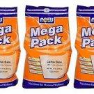 3 Pack Now Foods Mega Pack Carbo Gain, 12 lbs (5.45 kg)