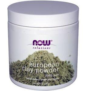 Now Foods, European Clay Powder, Facial Mask, 14 oz (397 g)