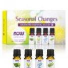 Seasonal Changes Balancing Essential Oils Kit - 4 - 1/3 fl. oz (10 ml) Bottles b