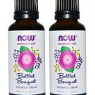 2 Pack Now Foods Essential Oils, Bottled Bouquet Romance Blend, 1 fl oz (30 ml)