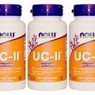 3 Pack Now Foods UC-II Joint Health Undenatured Type II Collagen, 120 Veg Caps
