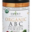 Organic ABC (Apple, Beet, Carrot) Powder - 4.46 oz (125 Grams) by Smart Organics