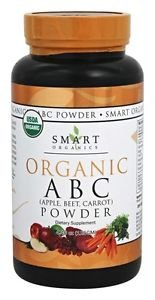 Organic ABC (Apple, Beet, Carrot) Powder - 4.46 oz (125 Grams) by Smart Organics