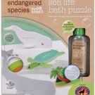 Endangered Species Bath Puzzle with 2 oz. Berry Scented Bubble Bath Sea Life