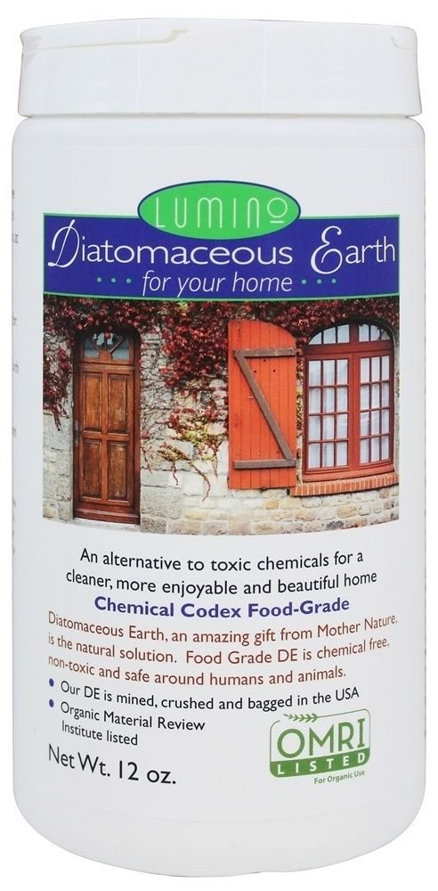 Lumino Wellness Food Grade Diatomaceous Earth for your Home Shaker 12 OZ