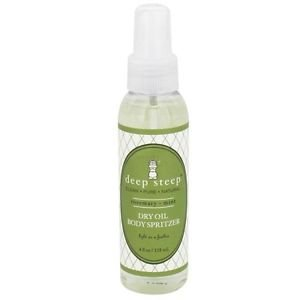 Deep Steep, Natural Dry Oil Body Spritzer, Rosemary Mint, 4 fl oz