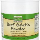 Now Foods Beef Gelatin Powder - 4 lbs (1814 g)