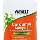 Now Foods Curcumin Softgels Turmeric Root Extract 120 Softgel