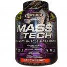 MuscleTech Mass Tech, Scientifically Superior Weight Gain Formula, Strawberry