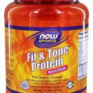 NOW Foods Sports Fit and Tone Protein Berry Flavor - 1.8 lbs