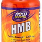 Double Strength HMB 1000mg Now Foods 90 Tabs